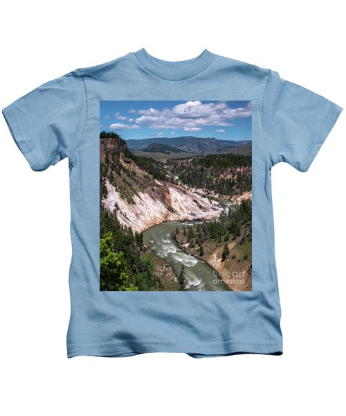 Calcite Springs Overlook  Kids T-Shirt