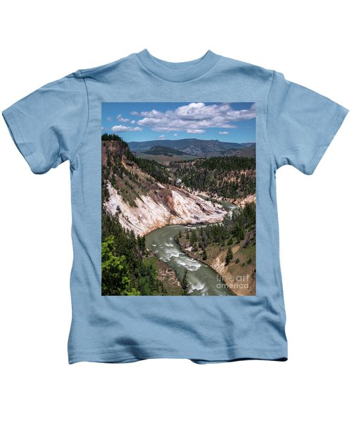 Calcite Springs Overlook  Kids T-Shirt