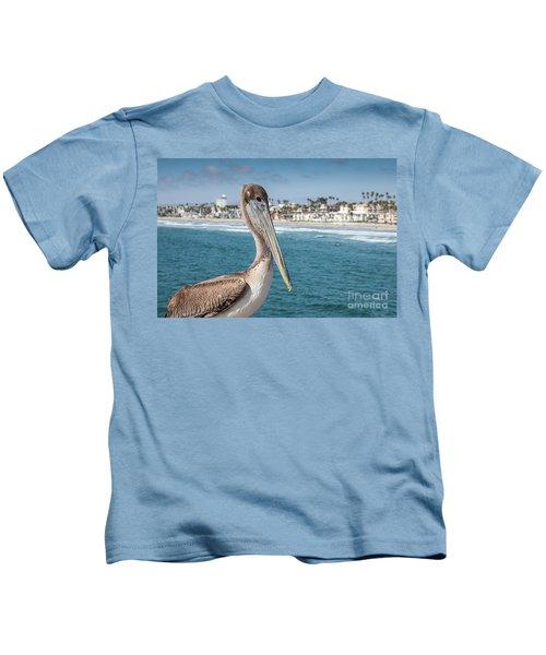 California Pelican Kids T-Shirt