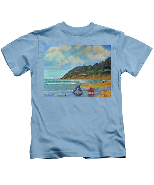 Cannon Beach Kids Kids T-Shirt