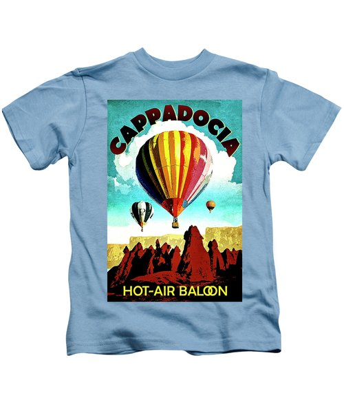 Cappadocia, Turkey, Hot Air Balloons Kids T-Shirt