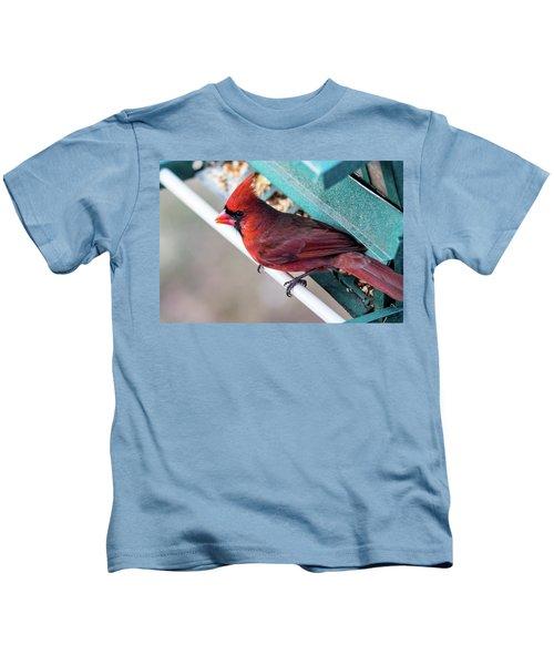 Cardinal Close Up Kids T-Shirt