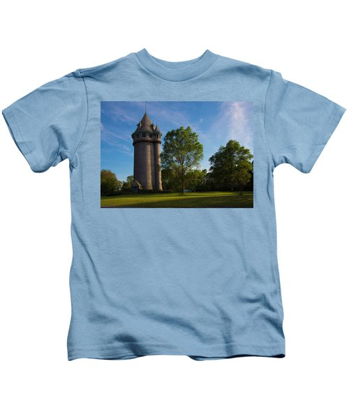 Castle Turret On The Green Kids T-Shirt