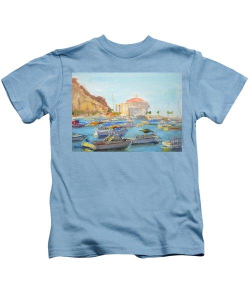 Catalina Casino In The Light Kids T-Shirt