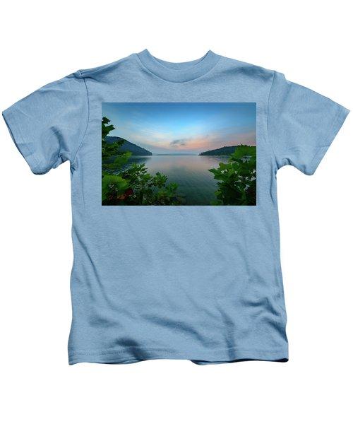 Cave Run Morning Kids T-Shirt
