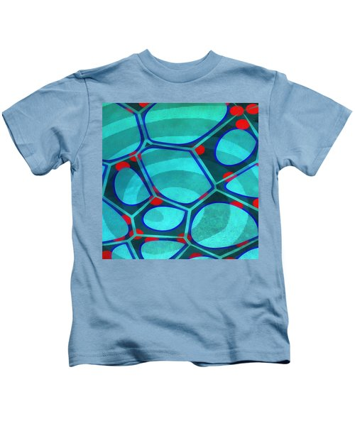 Cell Abstract 6a Kids T-Shirt