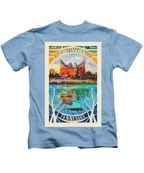 Chattanooga Aquarium Poster Kids T-Shirt