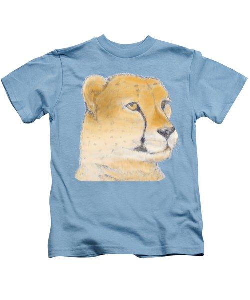 Cheetah 3 Kids T-Shirt by Gilbert Pennison