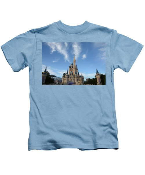 Cinderella Castle 2 Kids T-Shirt