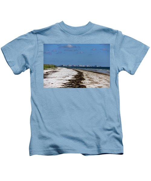 City Of Clearwater Skyline Kids T-Shirt