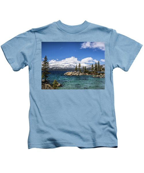 Clearing Sky Kids T-Shirt
