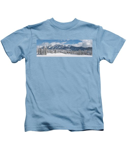 Colorad Winter Wonderland Kids T-Shirt