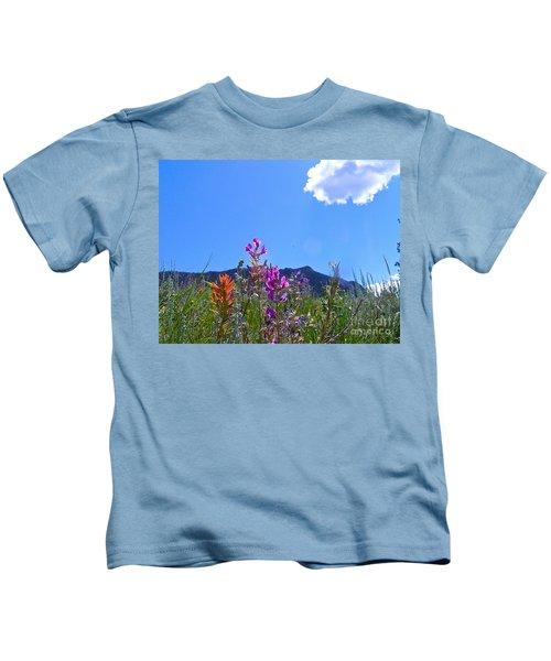 Colorado Colors Kids T-Shirt