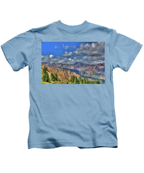 Colorado Rocky Mountains Kids T-Shirt