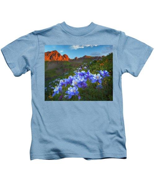 Columbine Sunrise Kids T-Shirt