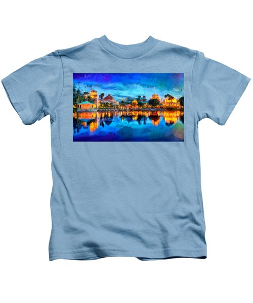 Coronado Springs Resort Kids T-Shirt