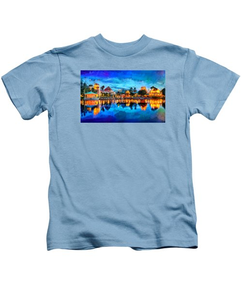 Coronado Springs Resort Kids T-Shirt