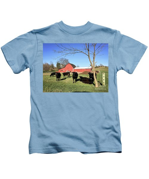 Country Cows Kids T-Shirt