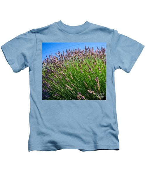 Country Lavender I  Kids T-Shirt