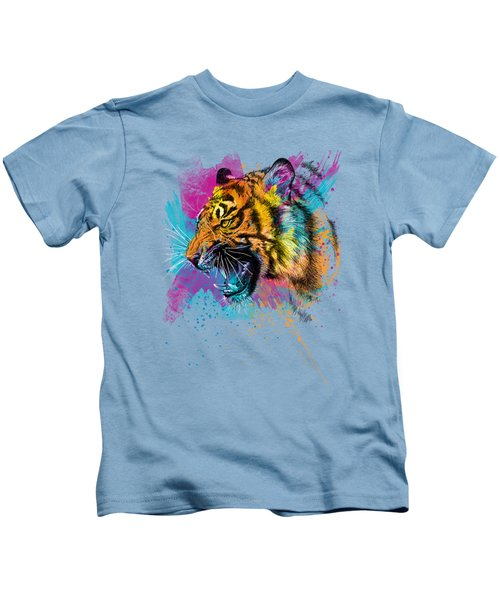 Crazy Tiger Kids T-Shirt