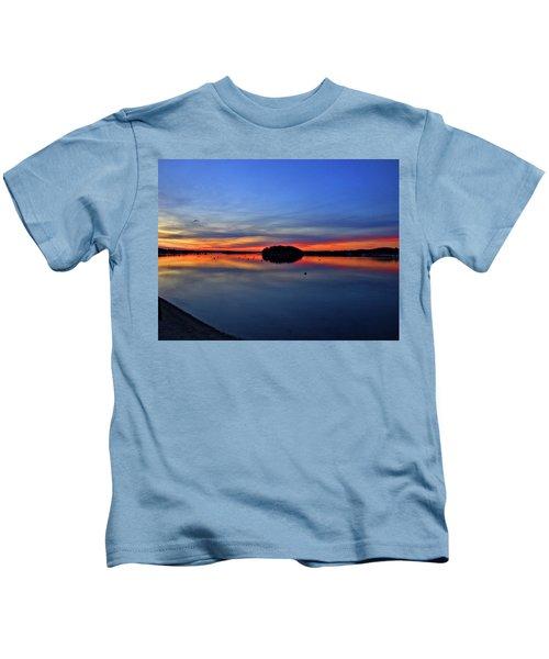 Crystal Blue Persuasion  Kids T-Shirt