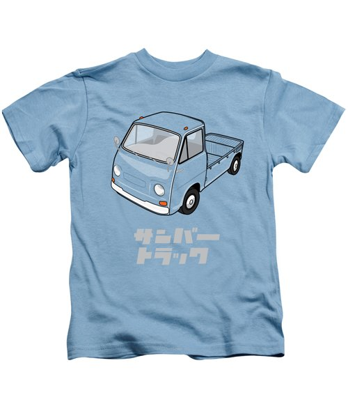 Custom Color Subaru Sambar Truck Kids T-Shirt