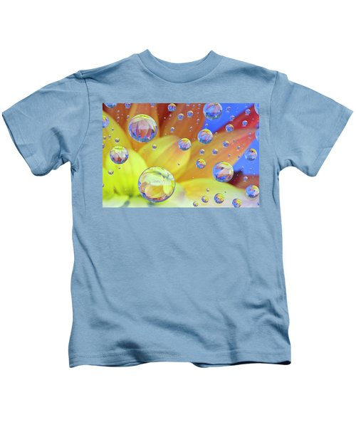 Dahlia Galaxy Two Kids T-Shirt