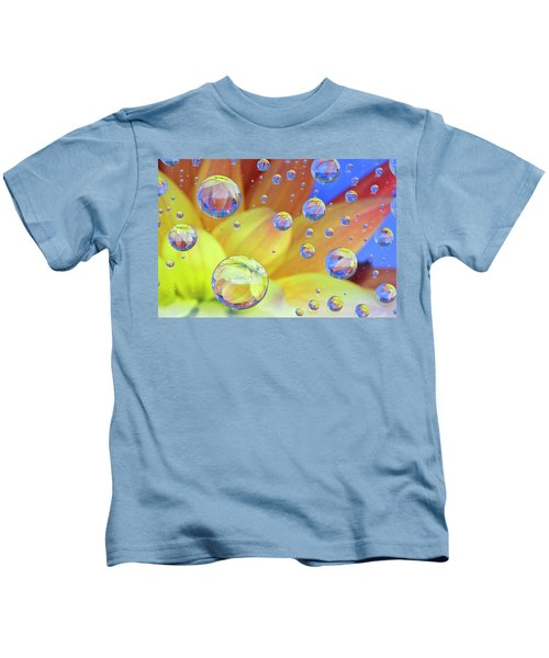 Dahlia Galaxy Two Kids T-Shirt