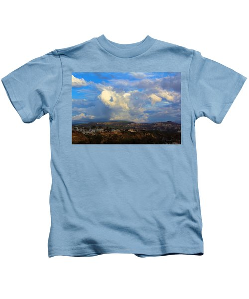 Dana Point View From Cliff Kids T-Shirt