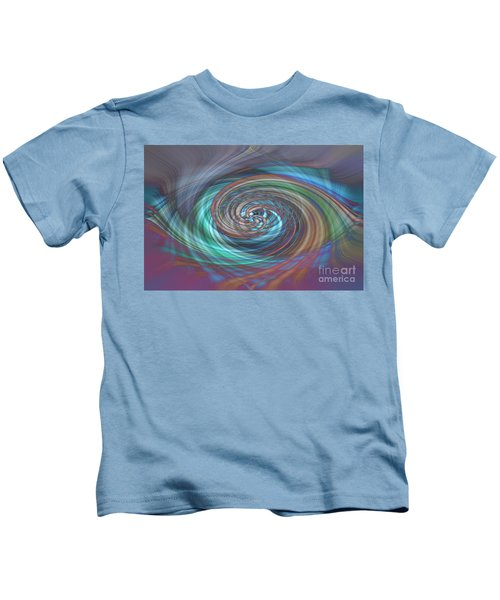 Dark Swirls Kids T-Shirt