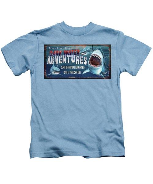 Dark Water Adventure Kids T-Shirt