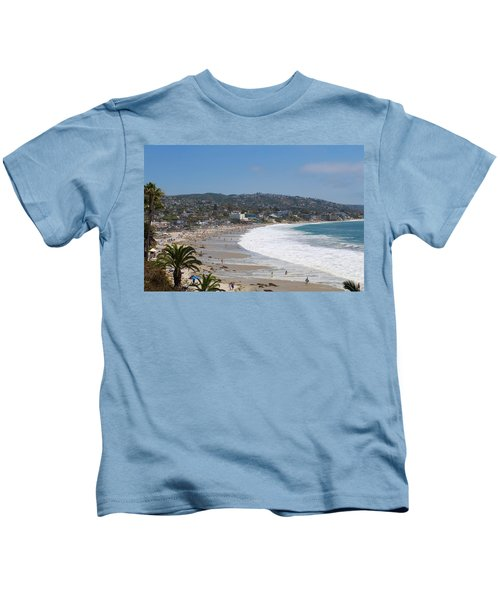 Day On The Beach Kids T-Shirt