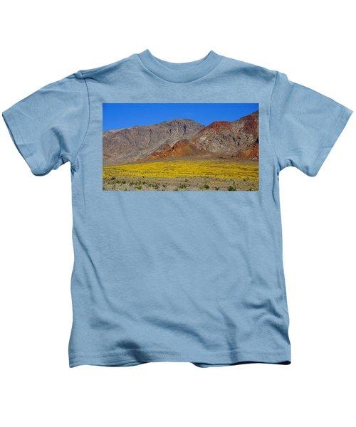 Death Valley Superbloom Kids T-Shirt