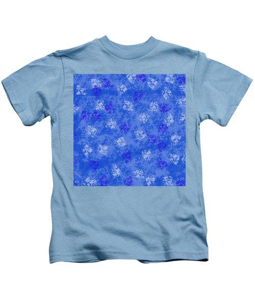 Decorative Blueprint Kids T-Shirt