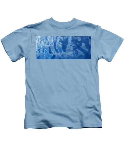 Deep Blue Tide Kids T-Shirt