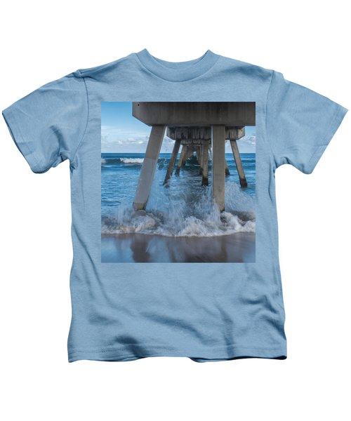 Deerfield Pier Kids T-Shirt