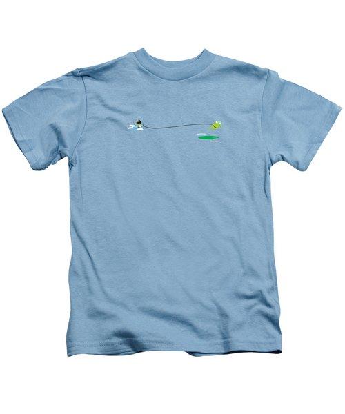 Del Jetski Kids T-Shirt