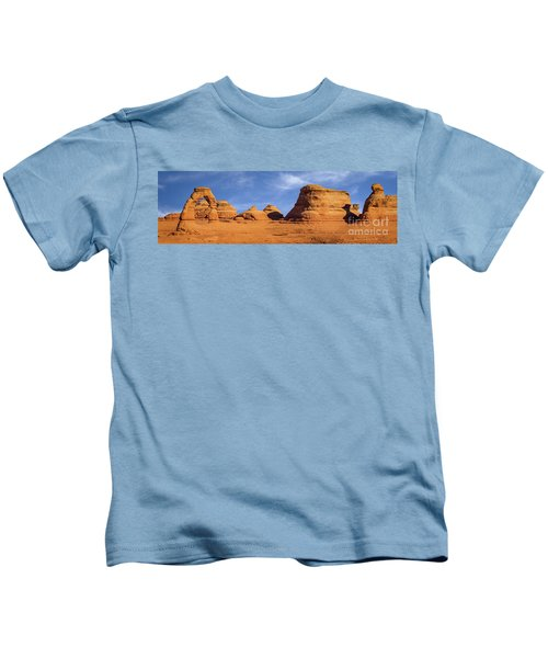 Delicate Arch Pano Kids T-Shirt