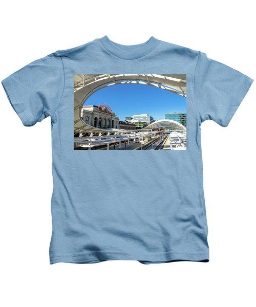 Denver Co Union Station Kids T-Shirt