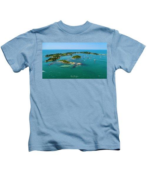 Devils Foot Island Kids T-Shirt