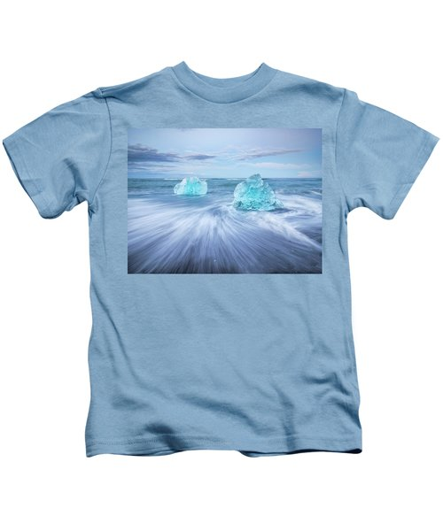Diamond In The Rough. Kids T-Shirt