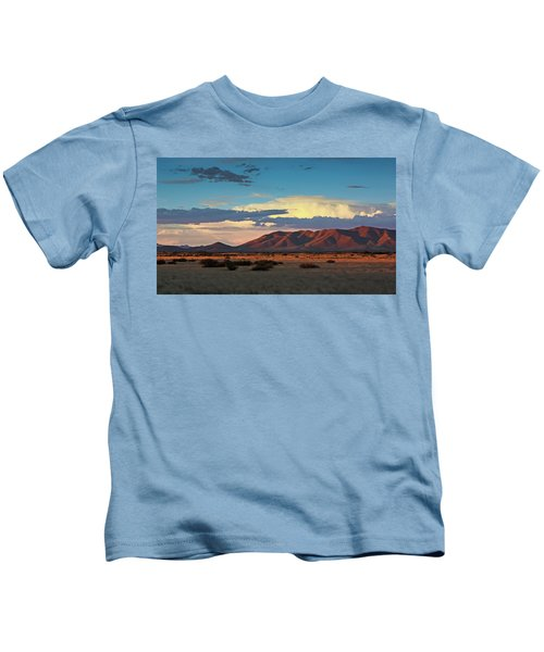 Dos Cabezos Sunset Serenity Kids T-Shirt