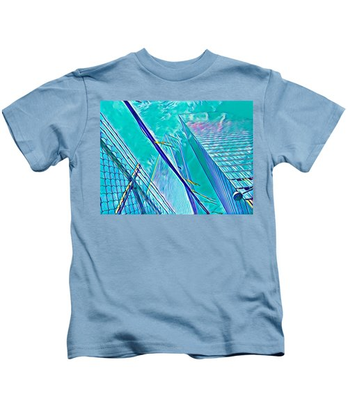 Down By The Water Kids T-Shirt