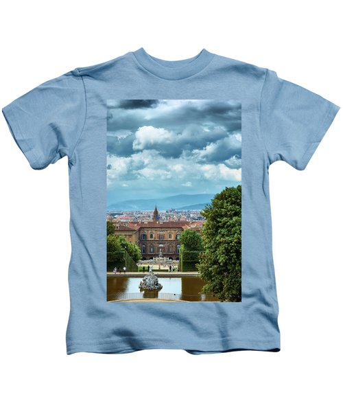 Drama In The Palace Of Firenze Kids T-Shirt