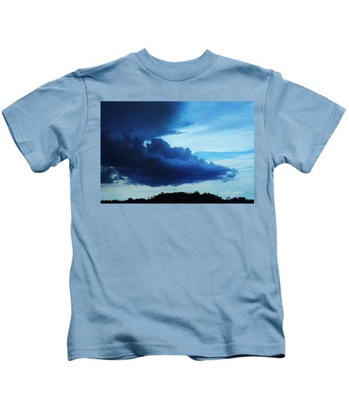 Dramatic Clouds Kids T-Shirt