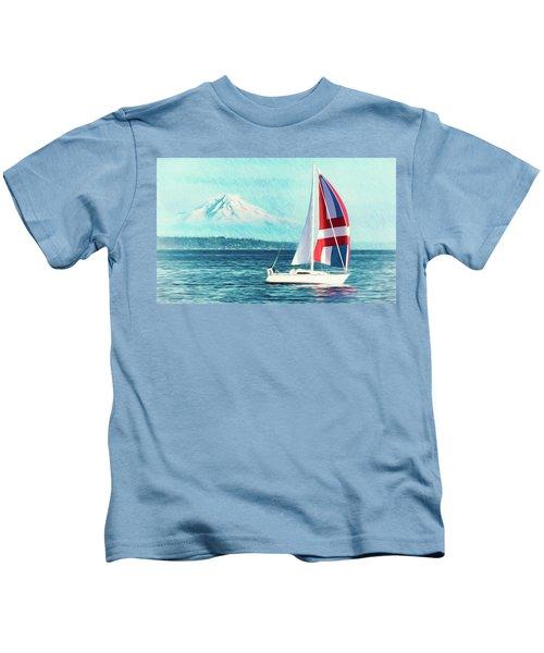 Dream Of Sailing Kids T-Shirt