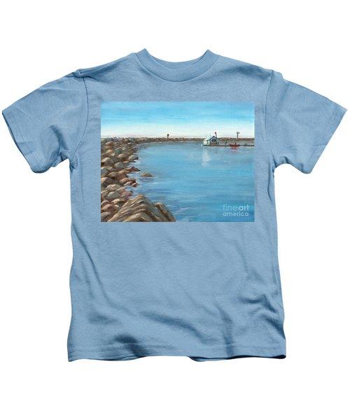 Early Morning At Dana Point Kids T-Shirt