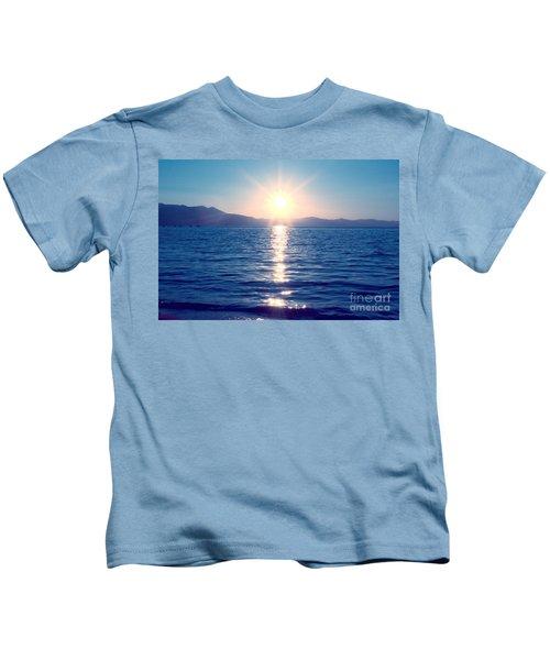 Early Sunset Kids T-Shirt