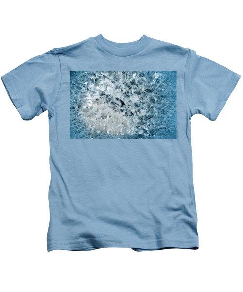 Earth Portrait 001-13 Kids T-Shirt