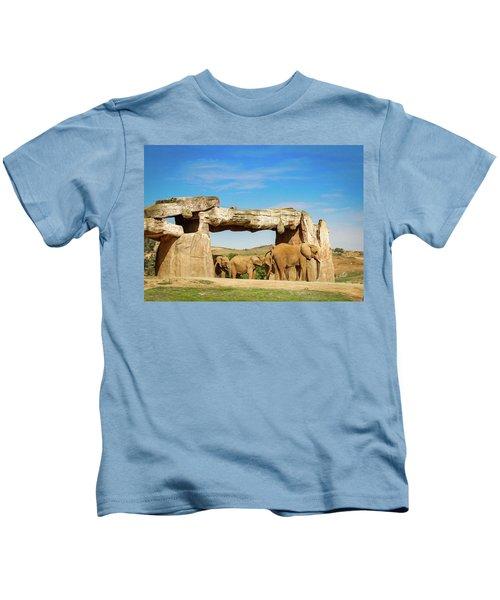 Elephants Kids T-Shirt